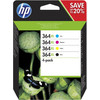 HP 364XL Cartridges Combo Pack