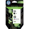 HP 21/22 Patronen Combo Pack
