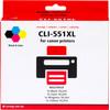 Pixeljet CLI-551XL Cartridges Combo Pack