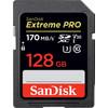 SanDisk SDXC Extreme, 128 GB, 170 MB/s