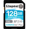 Kingston Canvas Go Plus, 128 GB