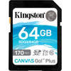 Kingston Canvas Go Plus, 64 GB