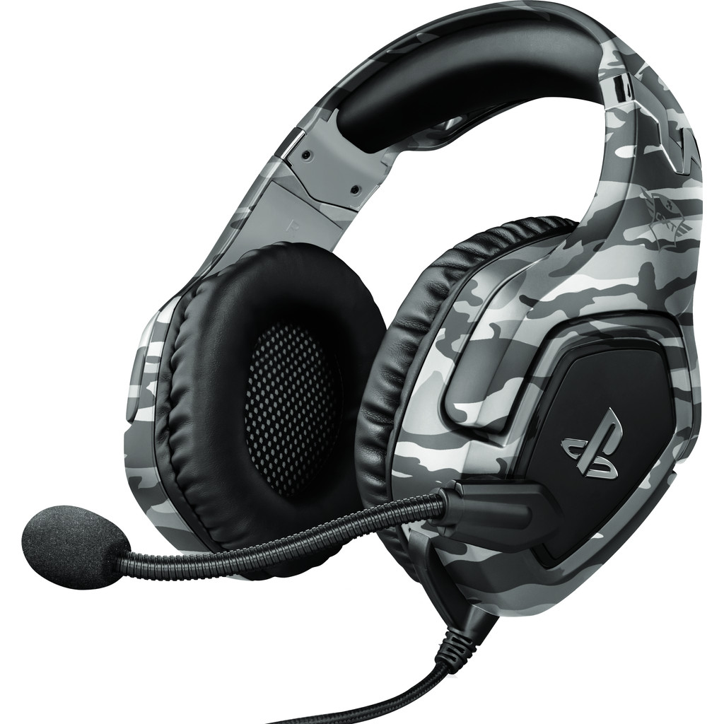 Trust GXT 488 FORZE Official Licensed Playstation 4 und 5 Gaming Headset - Grau 23531