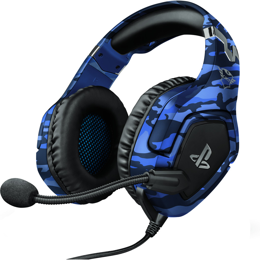 Trust GXT 488 FORZE Official Licensed Playstation 4 und 5 Gaming Headset - Blau 23532