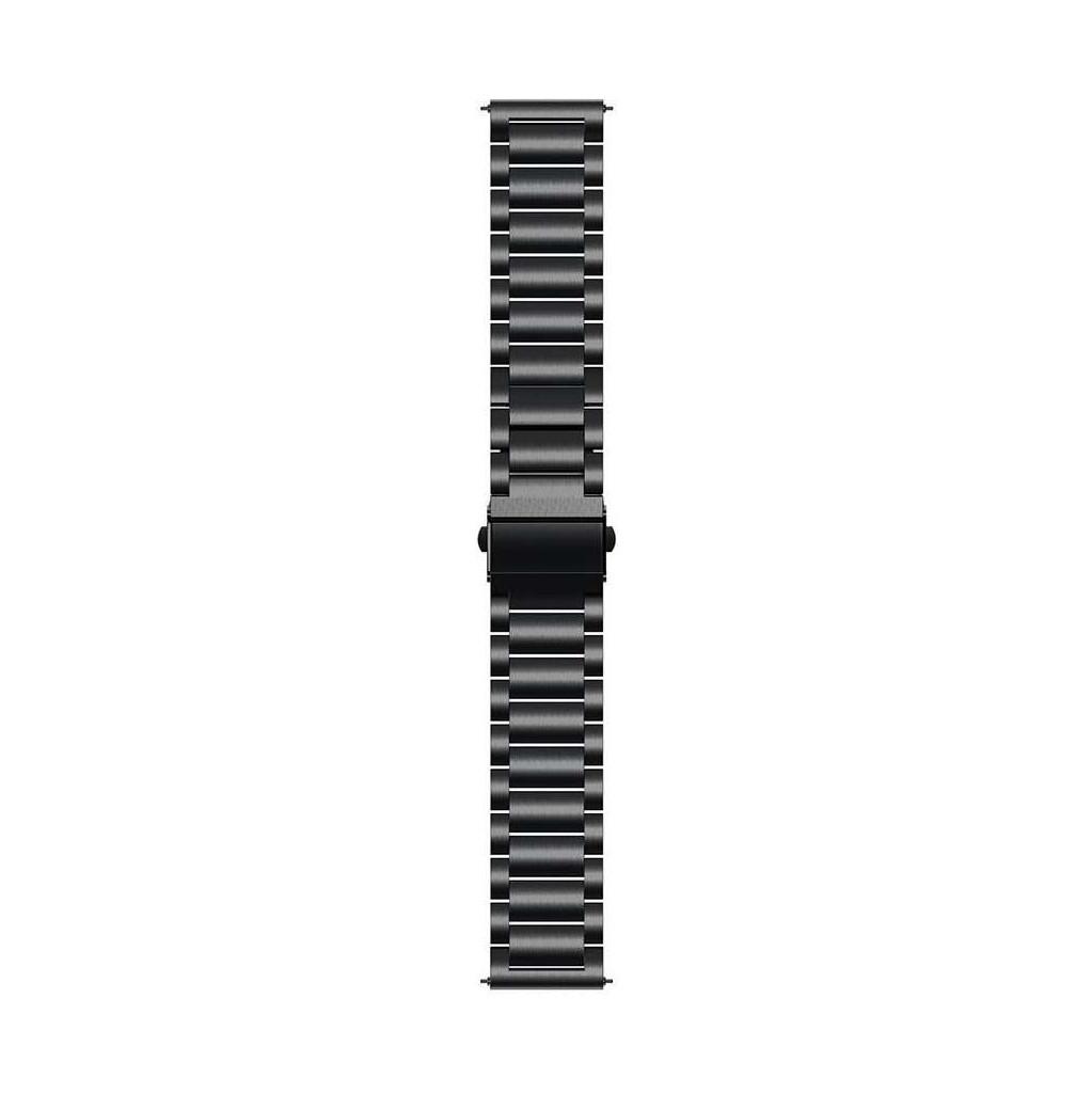 Just in Case Huawei Watch GT 2 46 mm Edelstahlarmband Schwarz 7747655