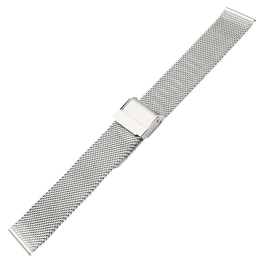 Just in Case Huawei Watch GT 2 42 mm Milanaise-Armband Silber 7747471
