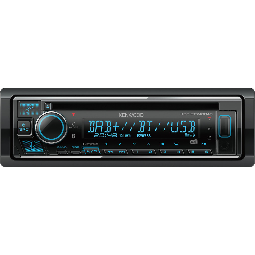 Kenwood Audio KENWOOD KDC-BT740DAB KDCBT740DAB