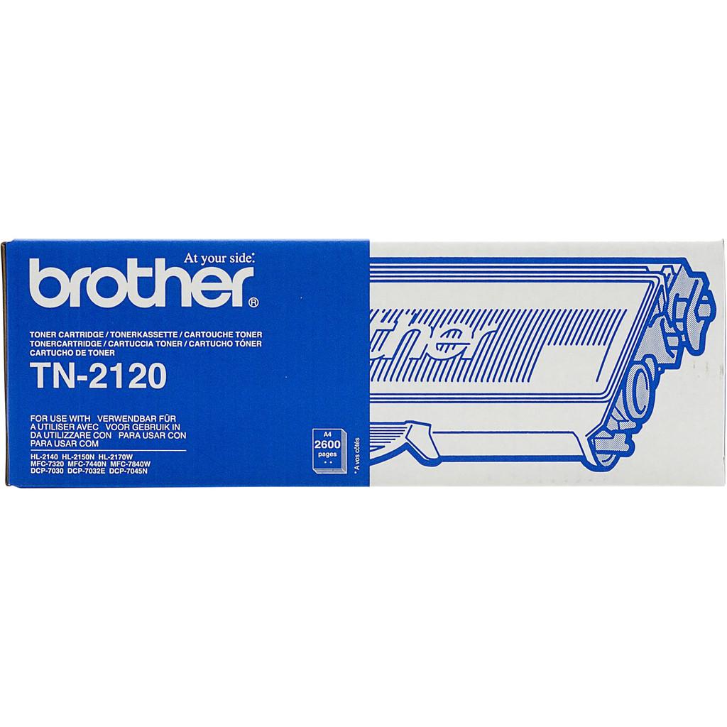 Brother TN-2120 Toner Schwarz (hohe Kapazität)