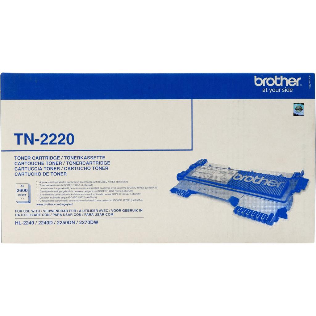 Brother TN-2220 Toner Schwarz (hohe Kapazität)