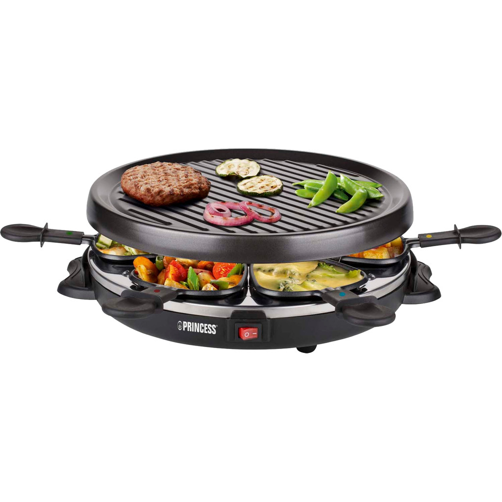Princess Raclette 6 Grill Party 162725 01.162725.01.001