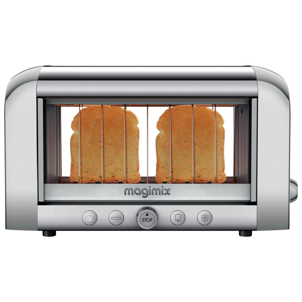 Magimix Le Vision Toaster Matt Chrom 11538NL