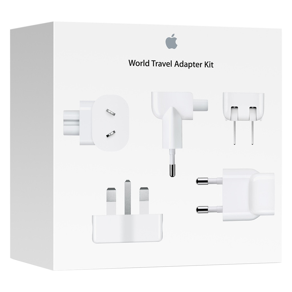 Apple World Travel Reiseadapter-Kit MD837ZM/A