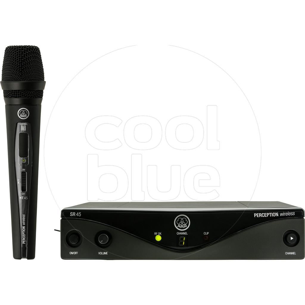 AKG Perception Wireless 45 Vocal Set A (530.025 MHz) Perception Wireless 45 Vocal Set BD A
