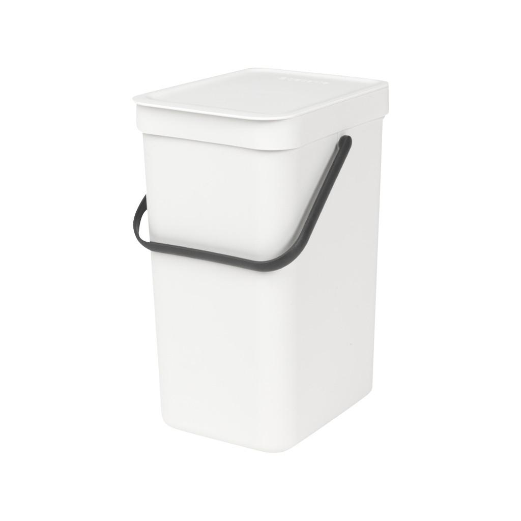 Brabantia Sort & Go 16 Liter Weiß 10 99 42