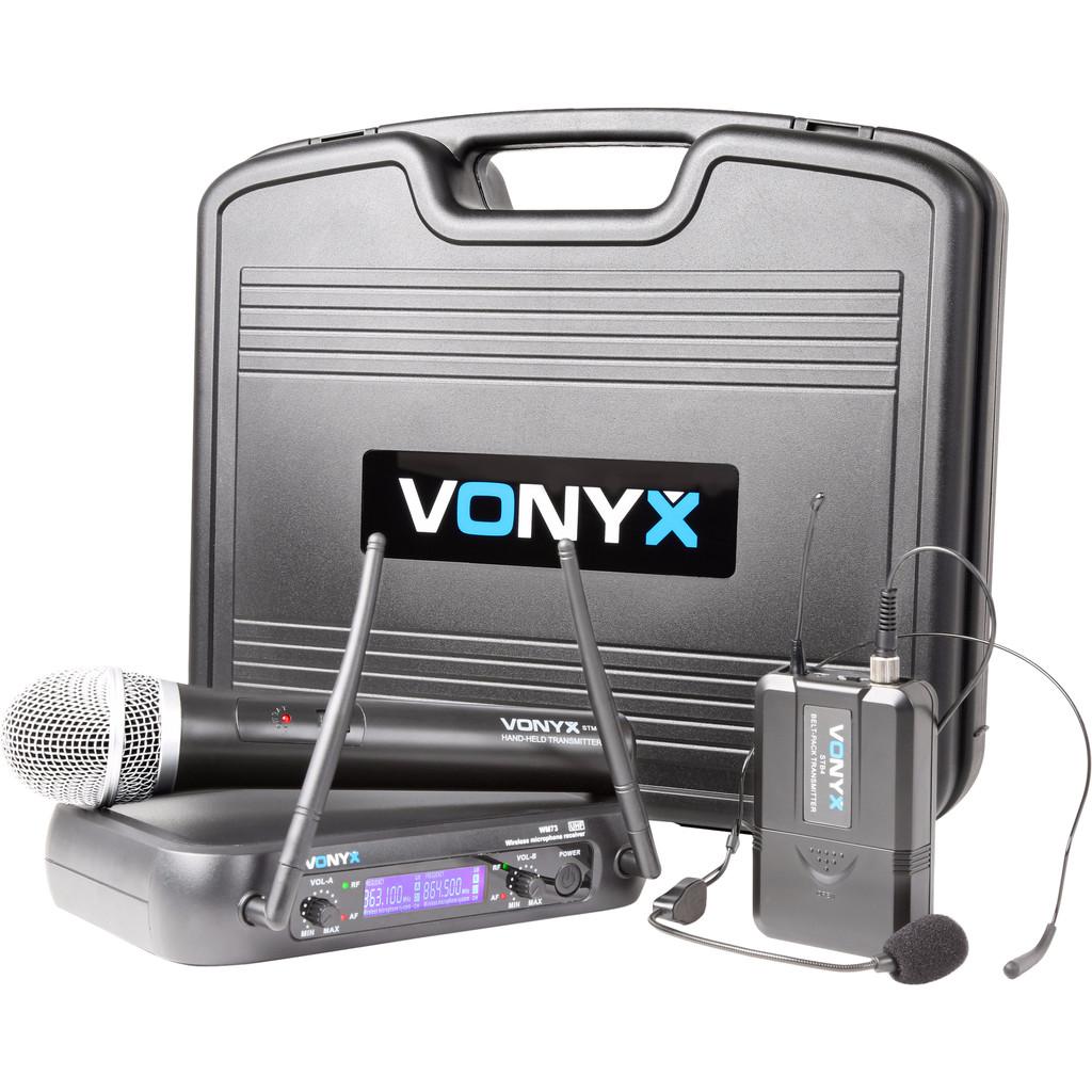 Vonyx WM73C (Set mit Hand- und Headset-Mikrofon) 179.203