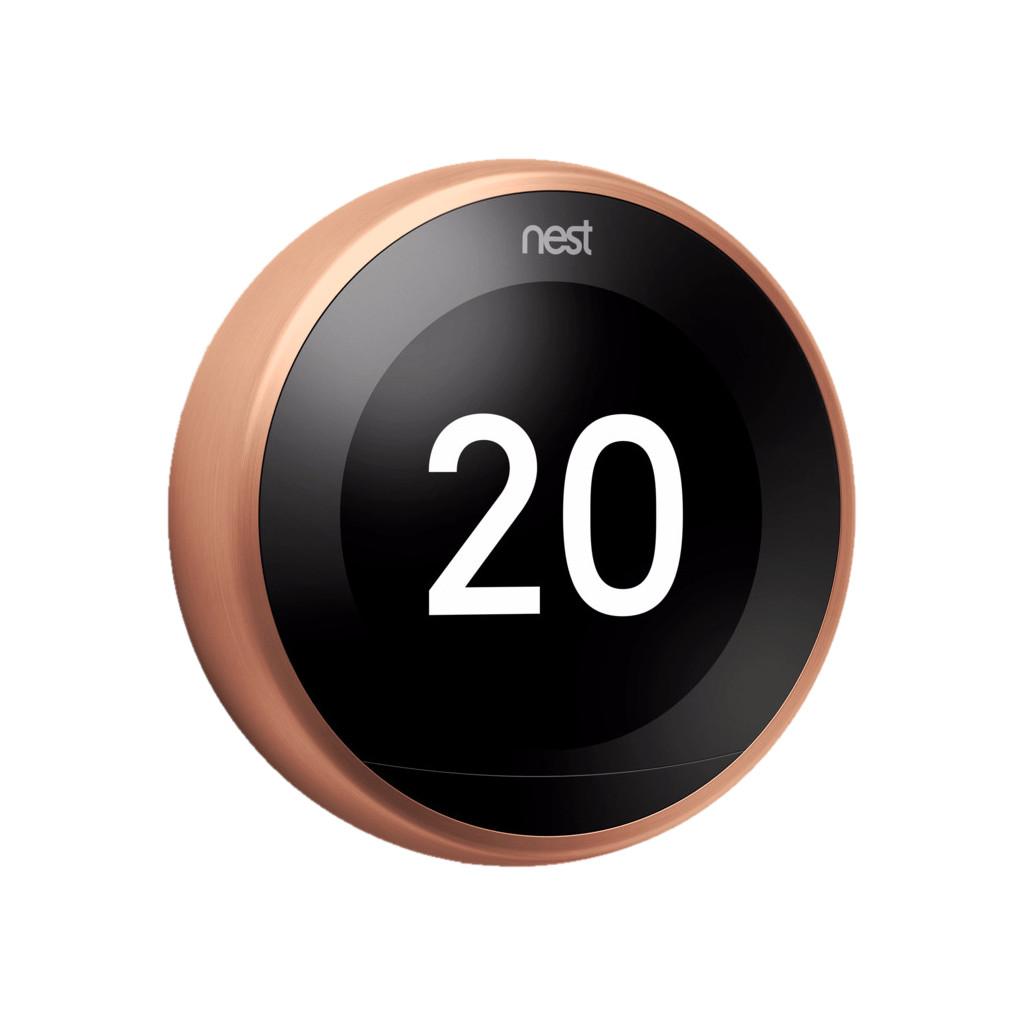 Google Nest Learning Thermostat V3 Premium Kupfer T3031EX