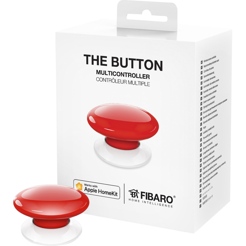 Fibaro The Button HomeKit Rot FGBHPB-101-3