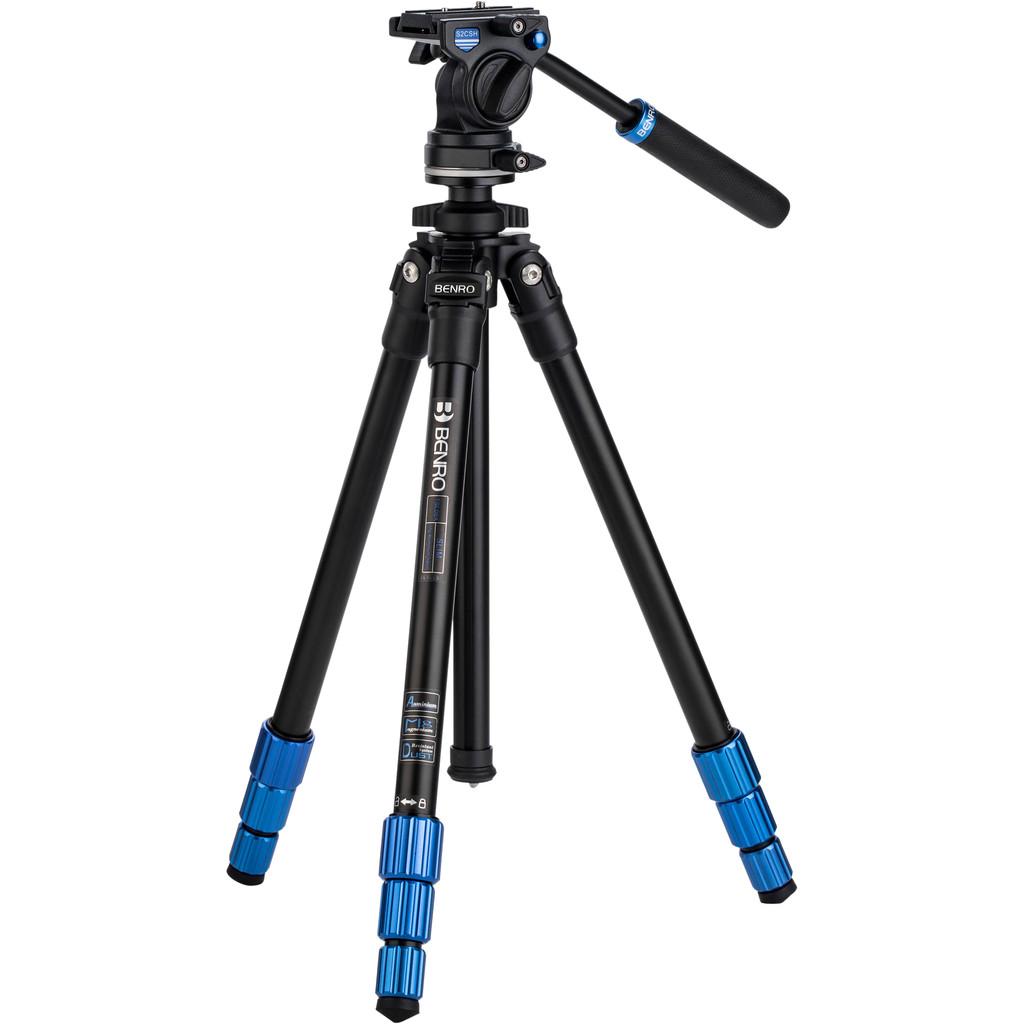 Benro TSL08AS2CSH Slim Video Stativ-Kit
