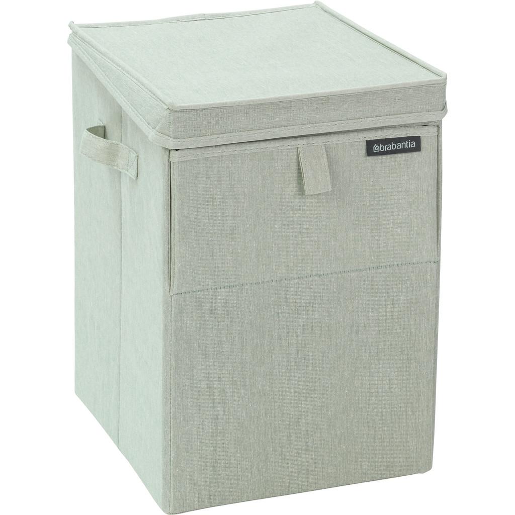Brabantia stapelbare Wäschebox 35 Liter - grün 12 04 66