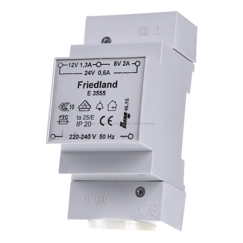 Friedland Klingeltrafo ¿ Transformator für Nest Hello E3555
