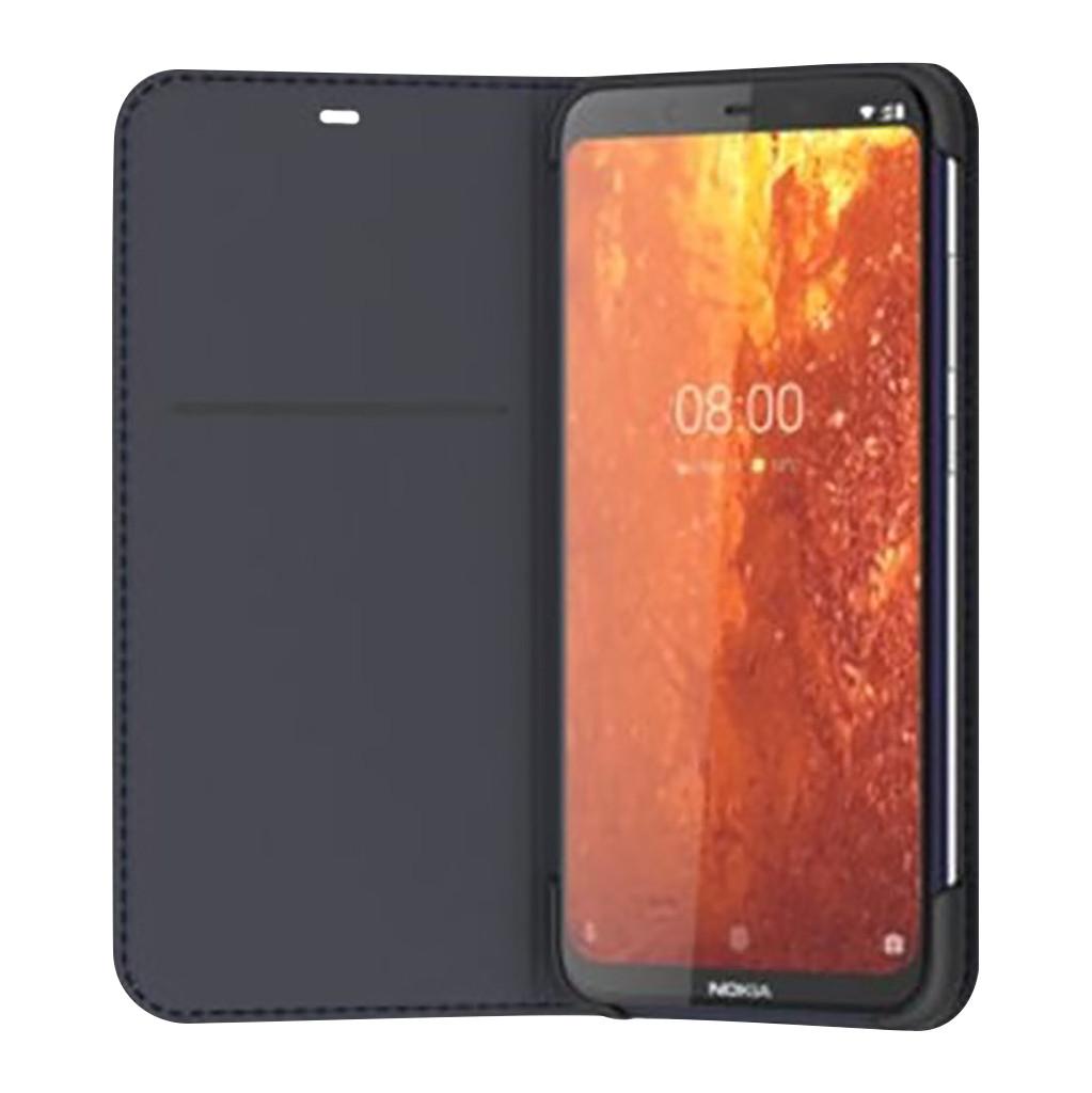 Nokia 8.1 Slim Flip Book Case Blau NOKIA-FLIP-8.1-BLU