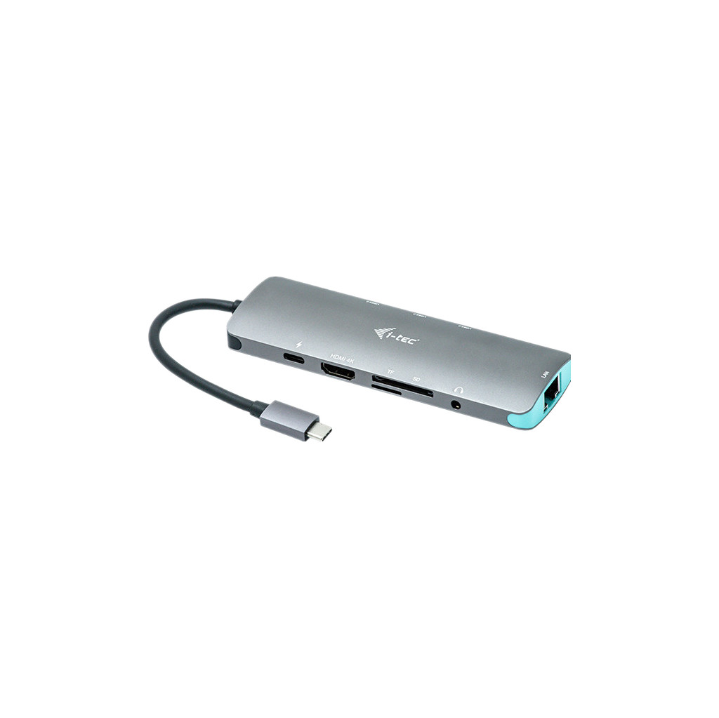Dockingstation i-tec USB-C Metal Nano C31NANODOCKLANPD