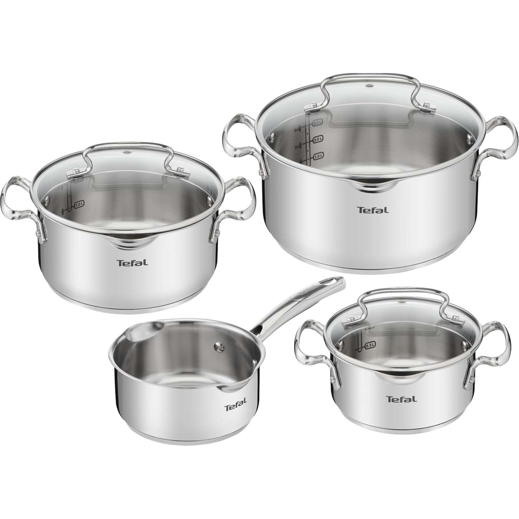 Tefal Duetto + 4-teiliges Topfset G719S7