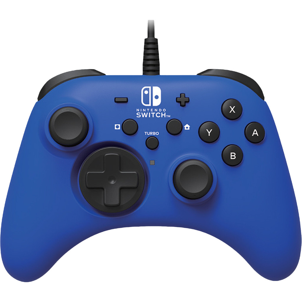 HORI ¿ Nintendo Switch Blue Horipad Wired Gamepad NSW-155U