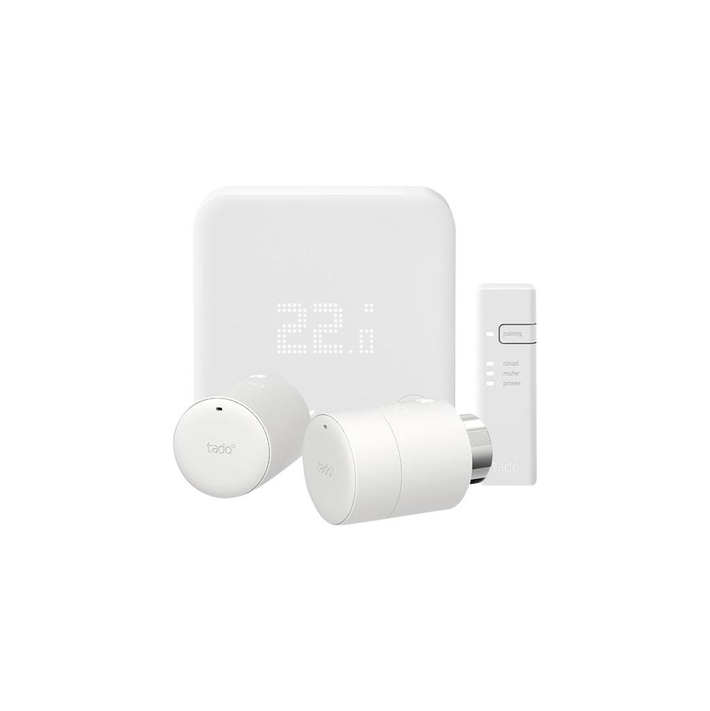 Tado Smart Thermostat V3 + Starterpaket + 2 Heizkörperventile TD-33-028