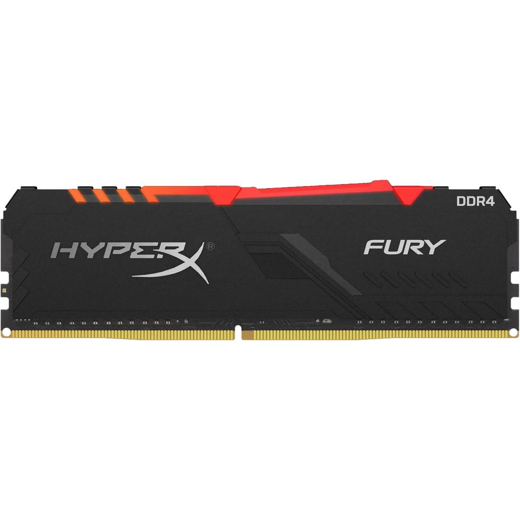 Kingston HyperX 16 GB (1 x 16 GB) 3.200 MHz DDR4 CL16 DIMM HyperX FURY RGB HX432C16FB3A/16