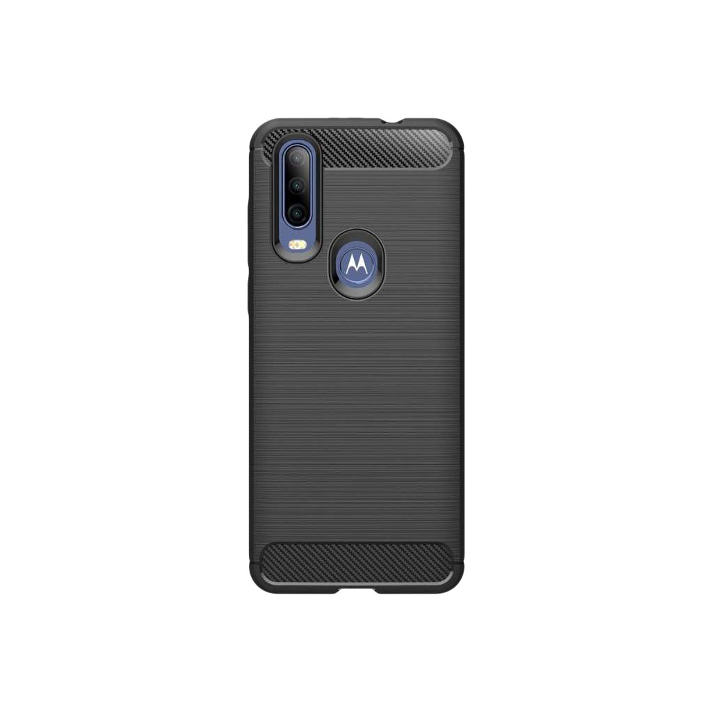 Just in case Nur für den Fall Robustes TPU Motorola One Action Back Cover Schwarz 7562791