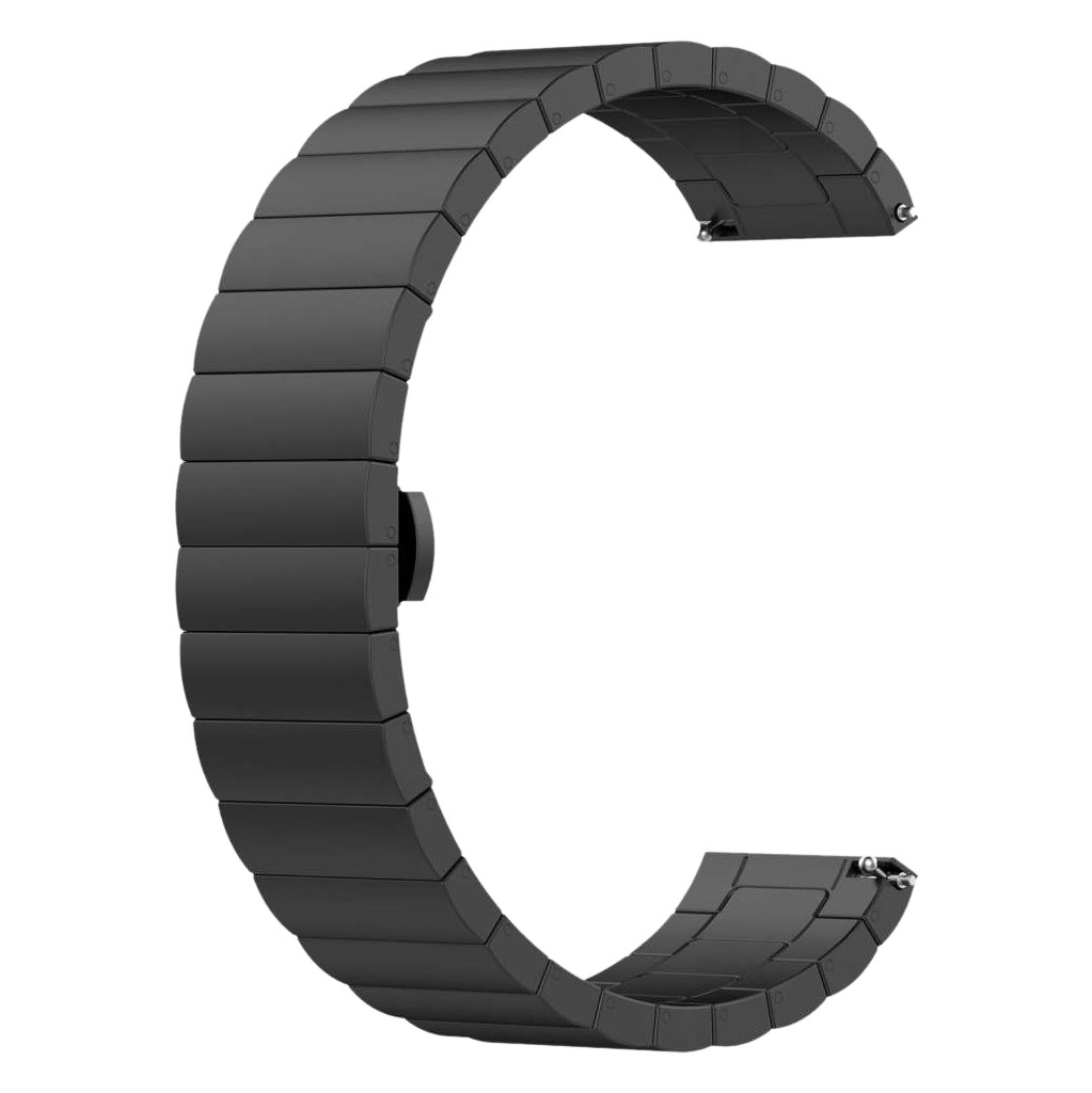 Just in Case Samsung Galaxy Watch Active2 Metallarmband Schwarz 7527288