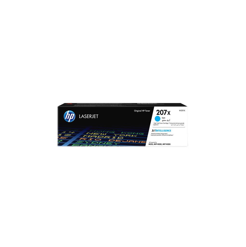 HP 207X Toner Cyan (hohe Kapazität) W2211X