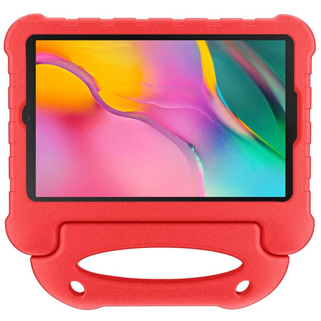 Just in Case Samsung Galaxy Tab A 10.1 (2019) kinderfreundliche Tablethülle Ultra Red 7439048