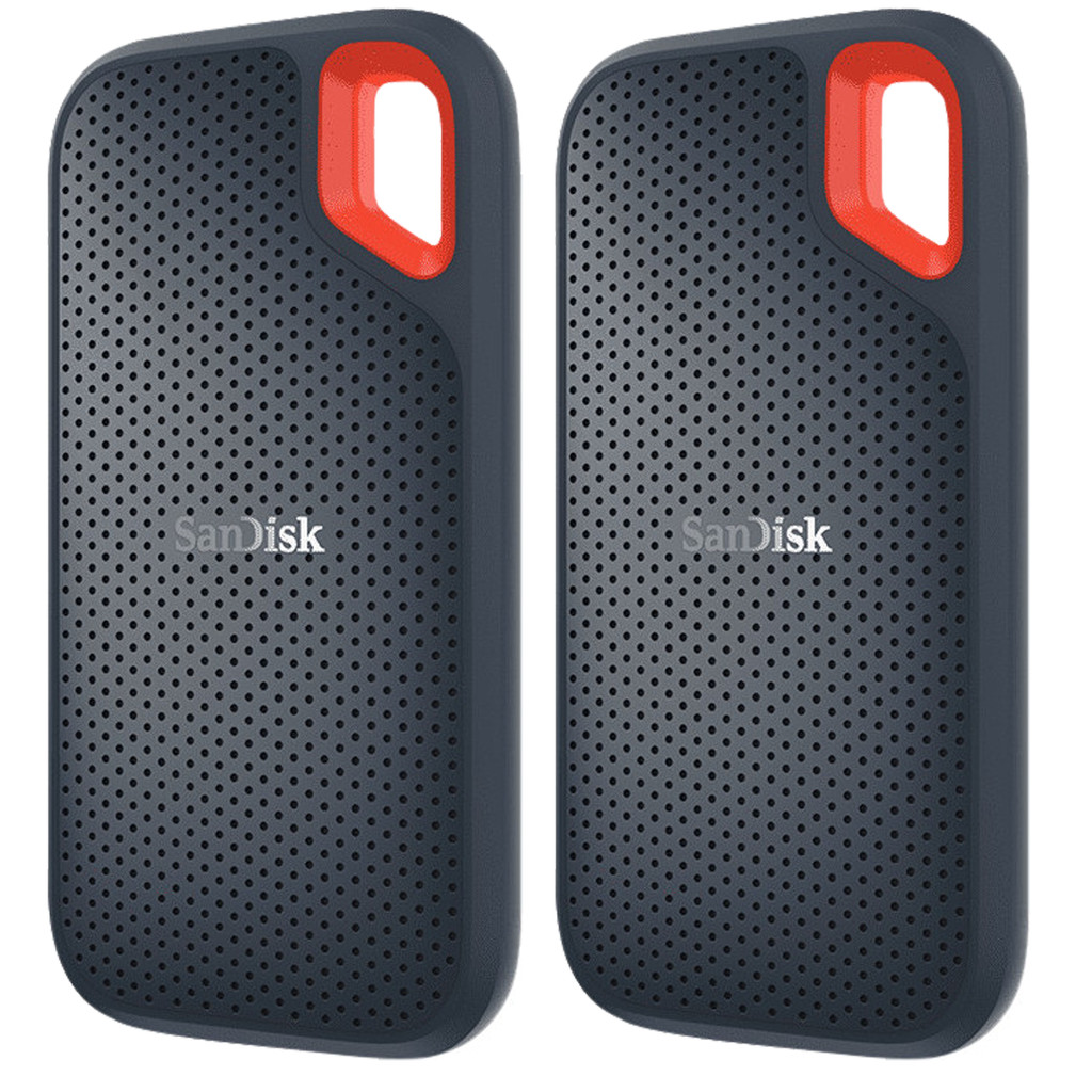 SanDisk Extreme Portable SSD, 500 GB Duo-Pack