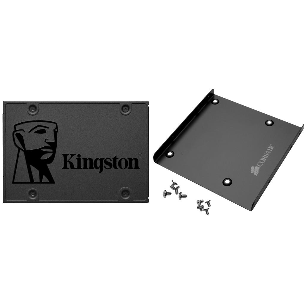 Kingston A400 SSD, 240 GB + Montagehalterung