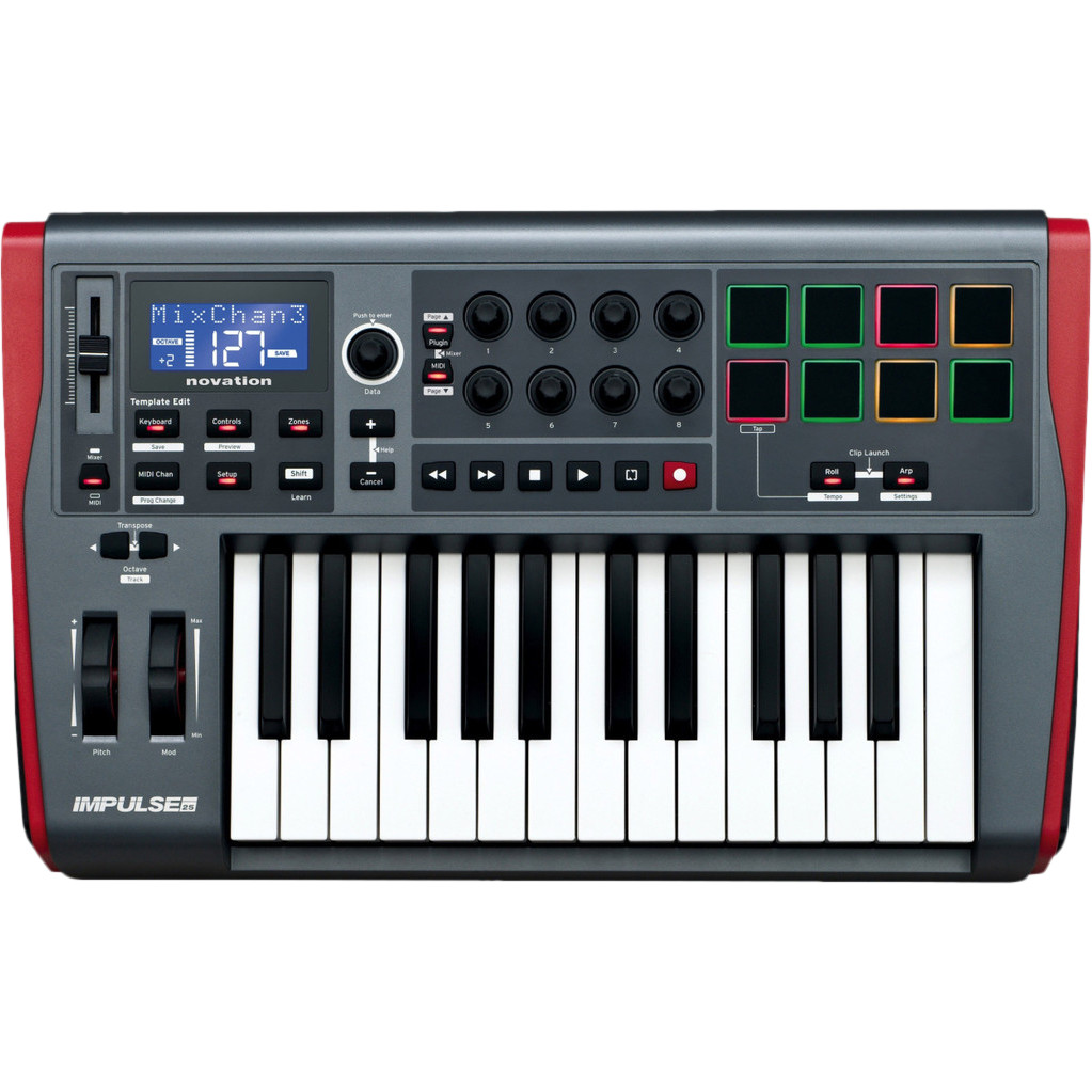 Novation Impulse 25 RNO IMPULSE-25
