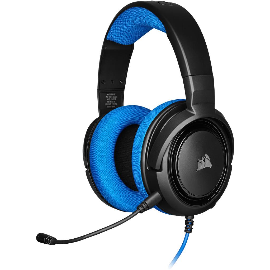 Corsair HS35 Stereo Gaming-Headset Blau CA-9011196-EU