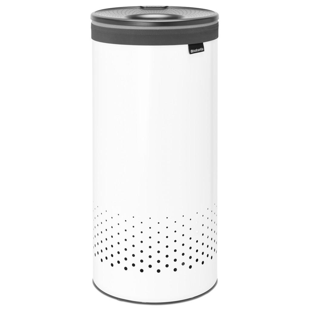 Brabantia 35-Liter-Wäschebox, Weiß 304866