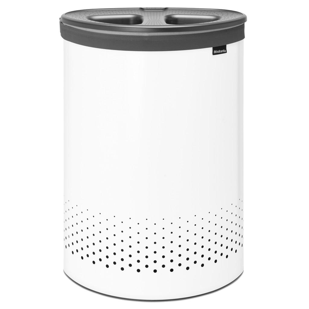 Brabantia 55-Liter-Wäschebox, Weiß 304903