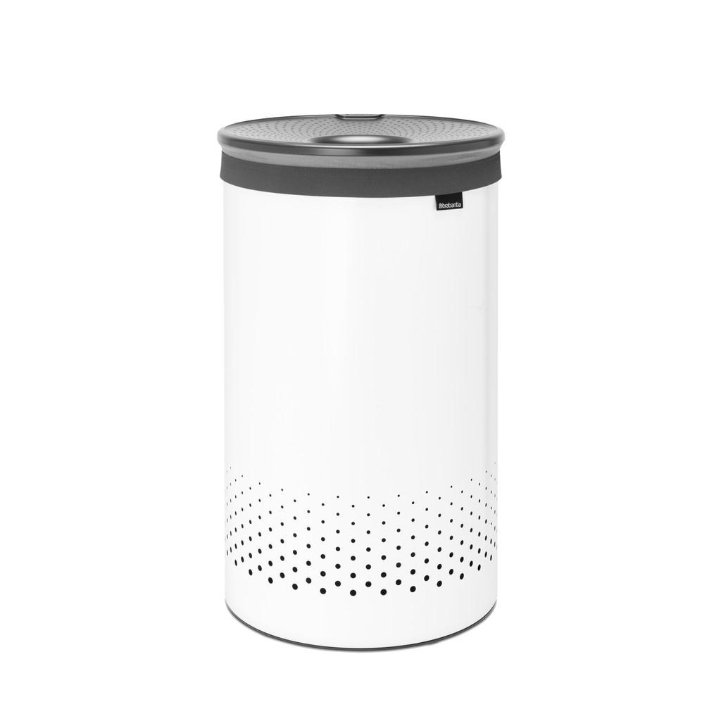 Brabantia 60-Liter-Wäschebox, Weiß 304880