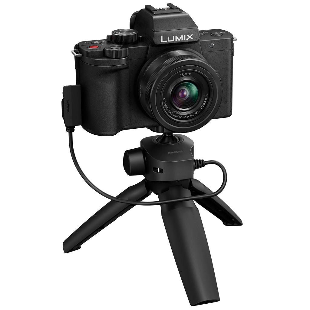 Panasonic Lumix G100 + 12-32 mm f/3.5-5.6 ASPH Mega O.I.S. + Stativ DC-G100VEG-K
