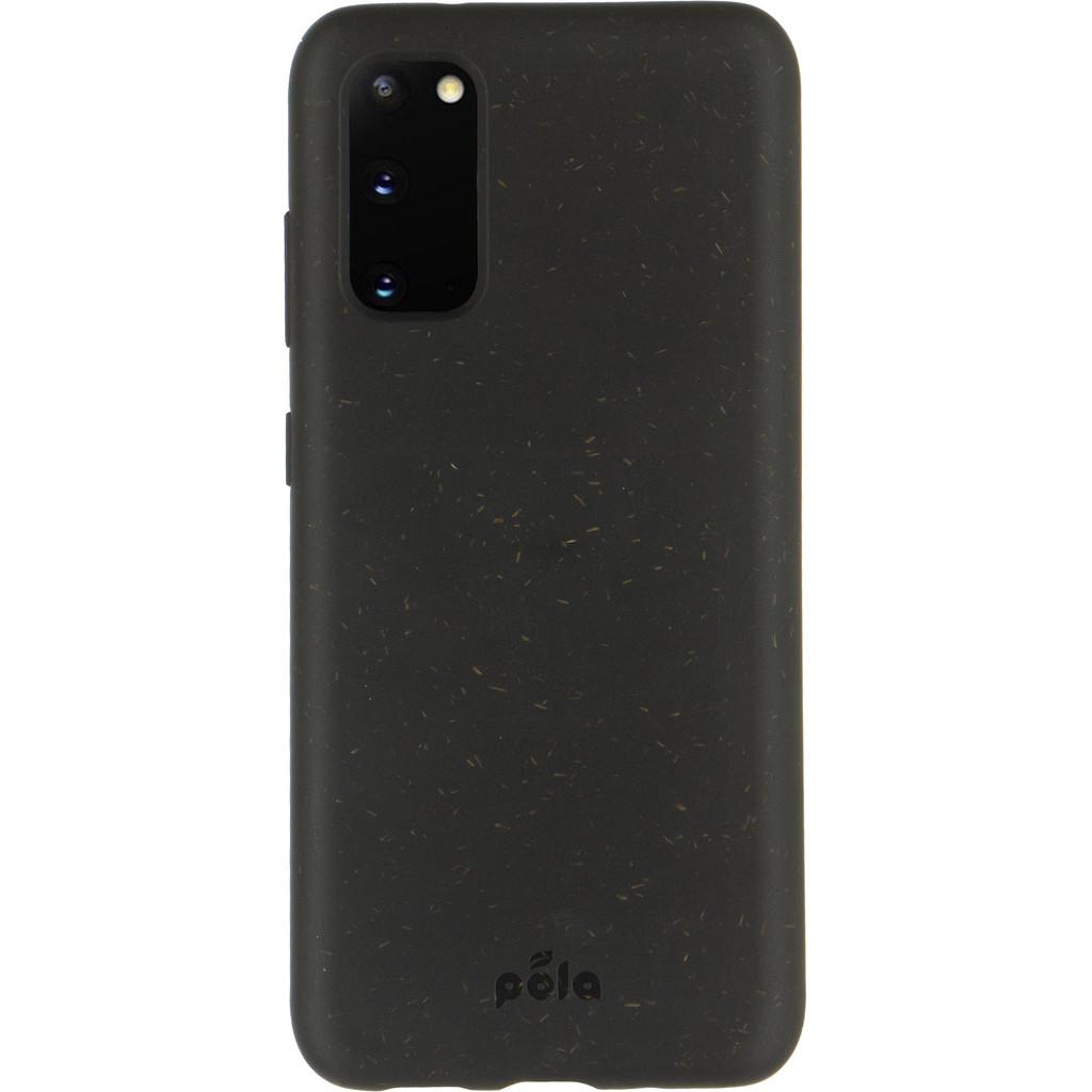 Pela umweltfreundliche Samsung Galaxy S20 Rückseite schwarz 38784