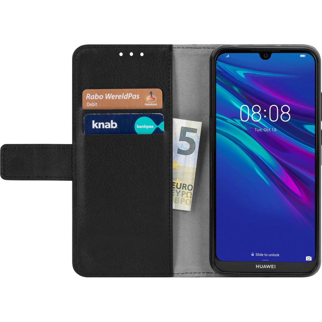 Just in case Nur in der Brieftasche Huawei Y6 (2019) Book Case Black 7221315