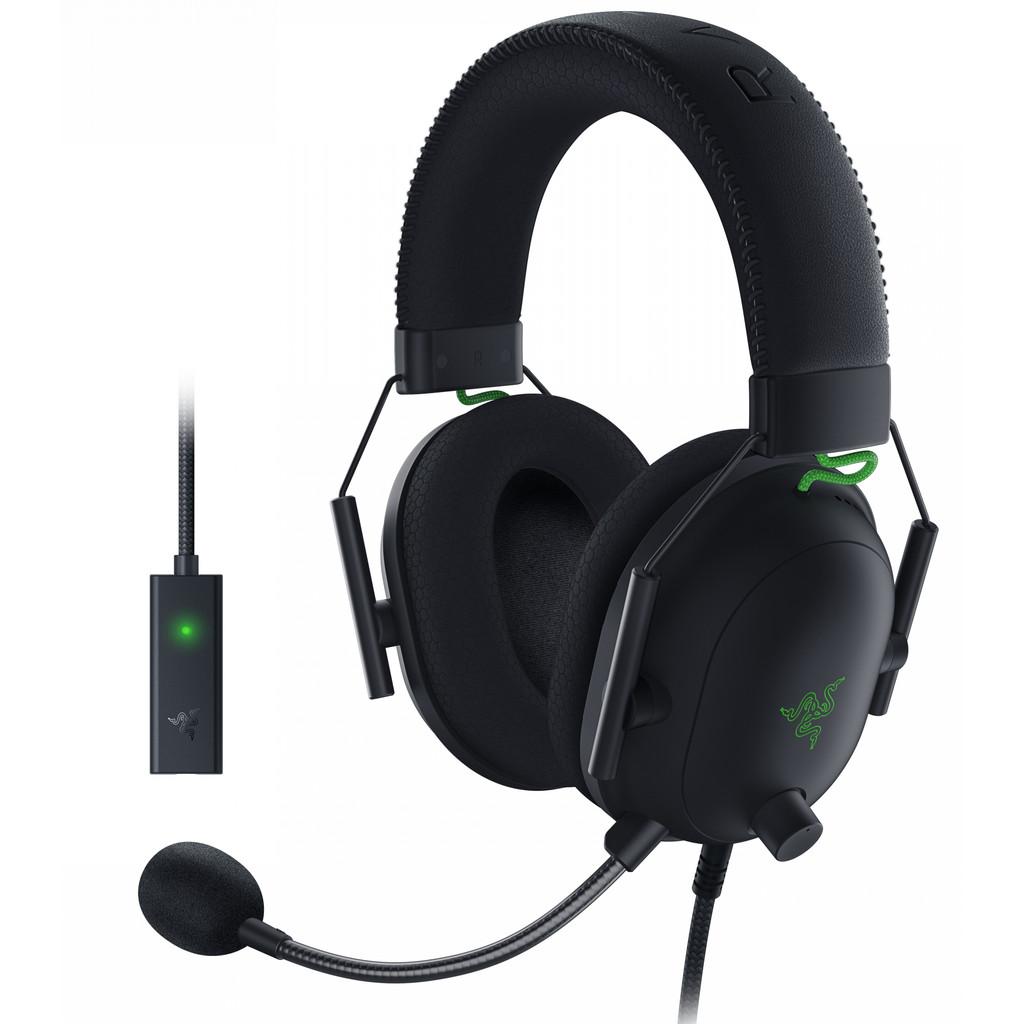 Razer Blackshark V2 Gaming-Headset + USB-Mikrofonverstärker 191241