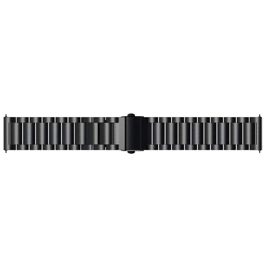 Just in Case Samsung Galaxy Watch3 45 mm Metallarmband Schwarz 9043800