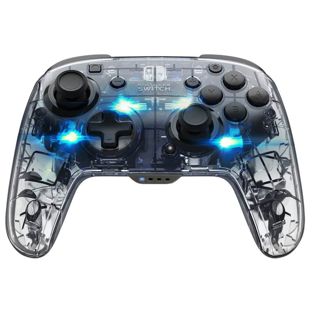 PDP Afterglow Afterglow Draadloze Deluxe Controller Nintendo Switch Silber 500-137-EU