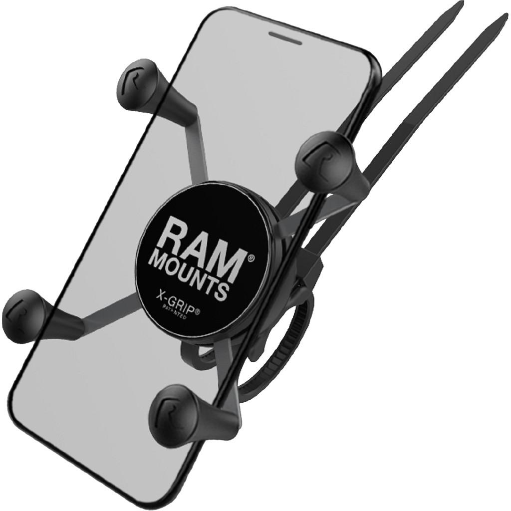 RAM Mounts Universal-Telefonhalter für Fahrradlenker EZ-ON/OFF Groß RAP-274-1-UN7