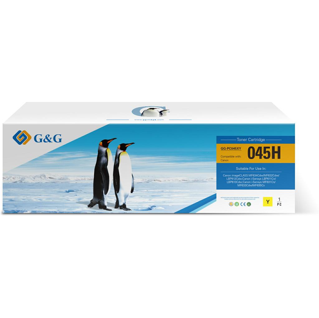 G&G G & G 045 Toner Gelb (hohe Kapazität) GG-C045Y