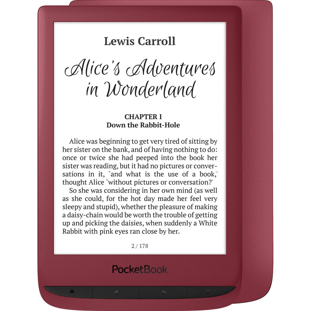 PocketBook Touch Lux 5 Ruby Rot PB628-R-WW